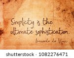 simplicity is the ultimate... | Shutterstock . vector #1082276471
