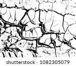 the cracks texture of dry earth.... | Shutterstock .eps vector #1082305079