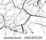 the cracks texture of dry earth.... | Shutterstock .eps vector #1082305109