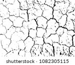 the cracks texture of dry earth.... | Shutterstock .eps vector #1082305115