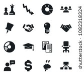 set of simple vector isolated... | Shutterstock .eps vector #1082318324