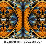 computer generated fractal... | Shutterstock . vector #1082356037