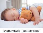 cute little asian 18 months   1 ...   Shutterstock . vector #1082391809