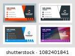 creative business card template.... | Shutterstock .eps vector #1082401841