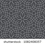 seamless linear pattern with... | Shutterstock .eps vector #1082408357