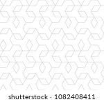 abstract geometric pattern with ... | Shutterstock .eps vector #1082408411