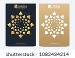 modern vector template for... | Shutterstock .eps vector #1082434214