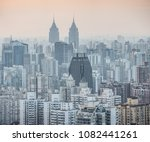 Modern Skyscrapers Central District Shanghai - Fine Art prints
