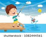 Vector Illustration Of Kid...