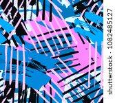 urban seamless funky geometric...   Shutterstock .eps vector #1082485127