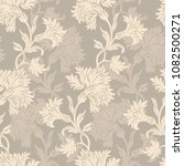elegance seamless pattern with... | Shutterstock .eps vector #1082500271