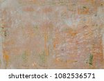peeled concrete aged wall.... | Shutterstock . vector #1082536571