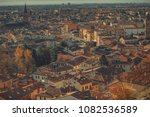 old medieval roman city from... | Shutterstock . vector #1082536589