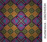 seamless geometric vector...   Shutterstock .eps vector #1082543534