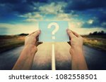 close up of woman hands holding ... | Shutterstock . vector #1082558501