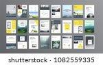 original presentation templates ... | Shutterstock .eps vector #1082559335
