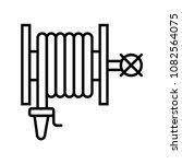 fire hose reel icon. fire...   Shutterstock .eps vector #1082564075