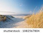 Dunes And Beach. North Sea