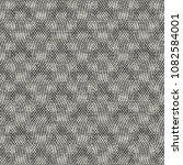 monochrome halftone effect... | Shutterstock .eps vector #1082584001