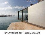 modern architecture in a... | Shutterstock . vector #108260105