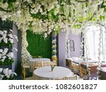 White floral wedding theme...