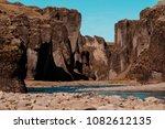 fjadrargljufur canyon  fja r...   Shutterstock . vector #1082612135