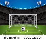 soccer  football stadium ... | Shutterstock .eps vector #1082621129