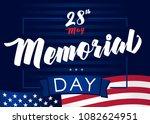 memorial day usa  remember  ... | Shutterstock .eps vector #1082624951