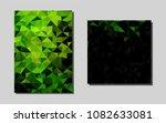 dark greenvector brochure for...