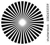 radial lines  starburst ... | Shutterstock .eps vector #1082653559