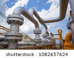 offshore industry oil and gas... | Shutterstock . vector #1082657624