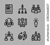 icons management with group ... | Shutterstock .eps vector #1082666837