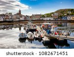 Moored Boats At Tarbert Harbou...