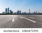 panoramic skyline and buildings ... | Shutterstock . vector #1082672591
