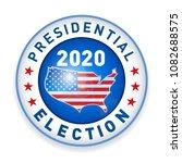 2020 united states of america...   Shutterstock .eps vector #1082688575