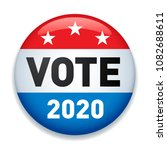 2020 united states of america...   Shutterstock .eps vector #1082688611