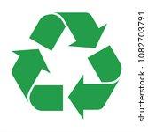 recycle icon vector | Shutterstock .eps vector #1082703791