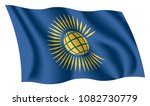 commonwealth of nations flag.... | Shutterstock .eps vector #1082730779