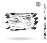 grey  brush stroke and texture. ... | Shutterstock .eps vector #1082740844