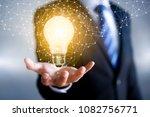 creative idea  inspiration  new ... | Shutterstock . vector #1082756771