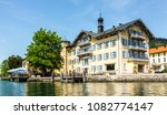 tegernsee lake in bavaria  ... | Shutterstock . vector #1082774147