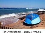 od boat at embankment in dahab  ...   Shutterstock . vector #1082779661