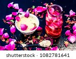 close up of ayurvedic and... | Shutterstock . vector #1082781641