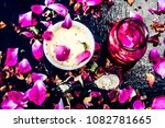 close up of ayurvedic and... | Shutterstock . vector #1082781665