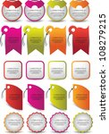 web element set | Shutterstock .eps vector #108279215