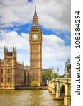 big ben in london  uk | Shutterstock . vector #108284294