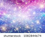 galaxy fantasy background | Shutterstock .eps vector #1082844674
