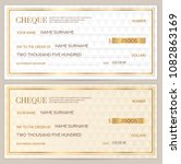 check  cheque   chequebook...   Shutterstock .eps vector #1082863169