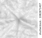 topographic map background... | Shutterstock .eps vector #1082871407