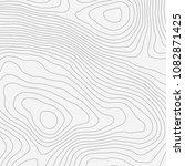 topographic map background... | Shutterstock .eps vector #1082871425
